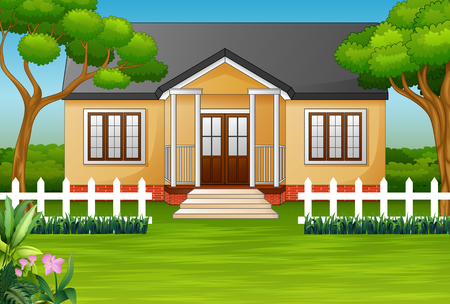 Frontyard Stock Vector Illustration And Royalty Free Frontyard Clipart
