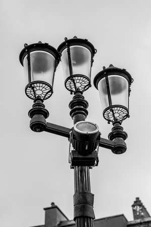 Old Fashioned Street Lighting.