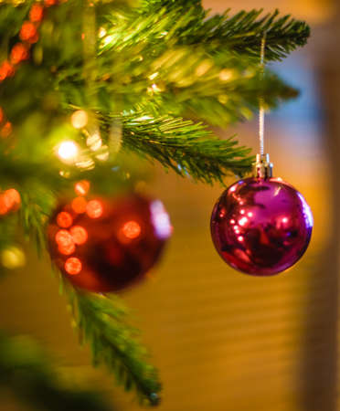 Christmas Tree Decoration Banque d'images