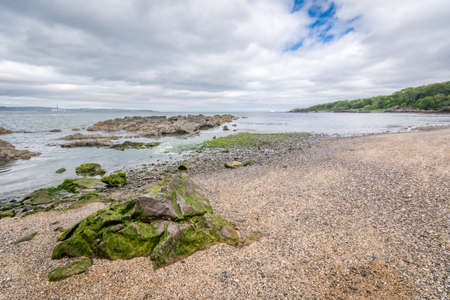 Traditional Irish beach. Banque d'images