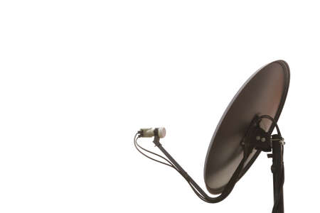 modernize: Satellite dish is a technology for communication in modern time. Stock Photo