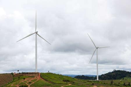 風力タービンは、タイでの風力発電に関する技術です。