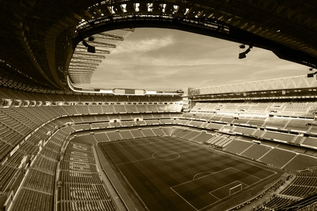 real madrid stadium, bernabeu Editorial