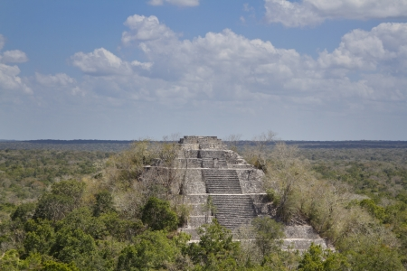 calakmul: time-lapse of the mayan ruins at calakmul, mexico. the mayans believe that transformative events will occur on 21 december 2012