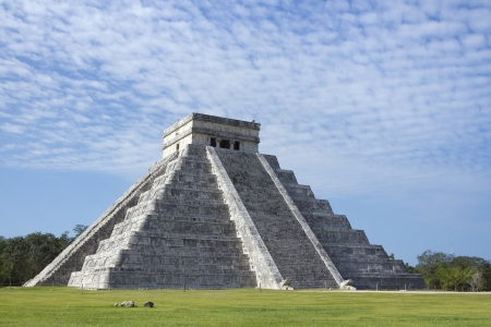 time-lapse of the mayan ruins at chichen itza, mexico. the mayans believe that transformative events will occur on 21 december 2012