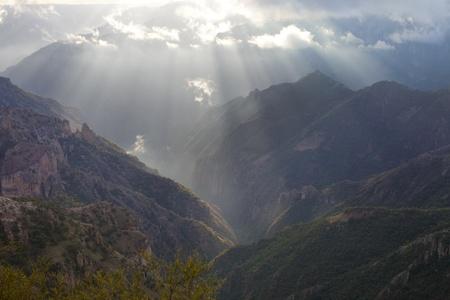 メキシコでのコペル峡谷のショット 写真素材