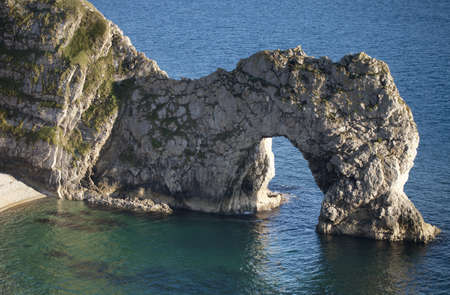 durdle door: the stunning coastline at durdle door on the dorset coast, england