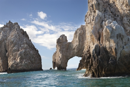 the rocks at el arco baja california sur, mexico photo