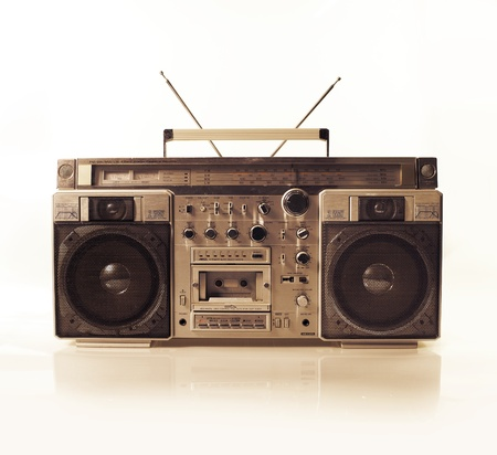 blaster: a fantastic looking retro ghetto blaster radio