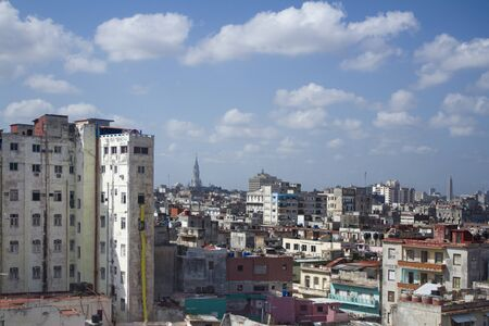 havana skyline, cuba photo