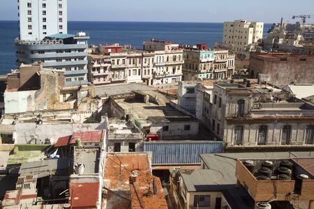 havana center and the malecon, cuba photo