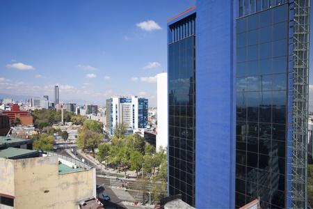heaving: the mexico city skyline Editorial