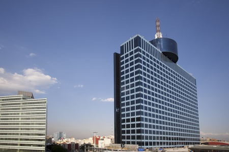 mexico city: the world trade centre building in mexico city