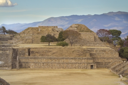eschatology: time-lapse of the mayan ruins at monte alban, mexico. the mayans believe that transformative events will occur on 21 december 2012