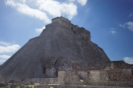 time-lapse of the mayan ruins at uxmal, mexico. the mayans believe that transformative events will occur on 21 december 2012 photo