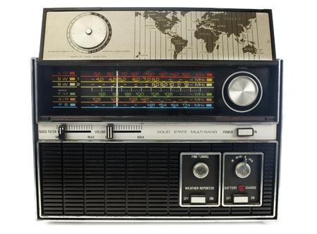 hifi: cool vintage radio and hifi Stock Photo