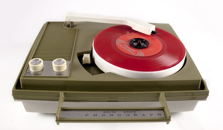 downloadable: a portable vintage record player