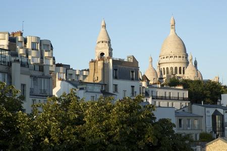 coeur: een uitzicht op de Sacre Coeur