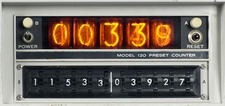 time machine: a scientific nixie counting machine
