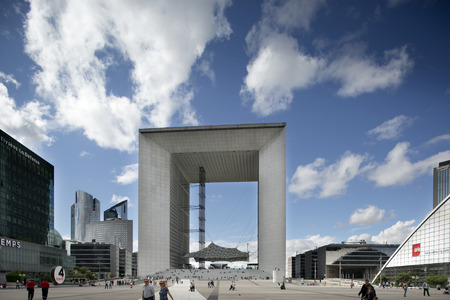 workday: the grand arc in la defence paris Editorial