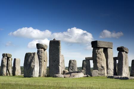 stonehenge: stonehenge ancient stone cirle in wiltshire, england Stock Photo
