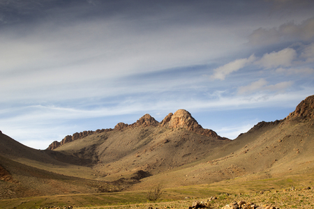 amazing mountains in the anti atlas, morocco landscape