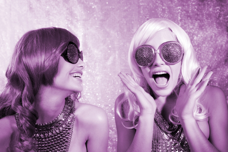 disco: disco twins gossip Stock Photo