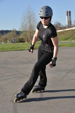 inline skater: Inline Skating - Leisure Activity