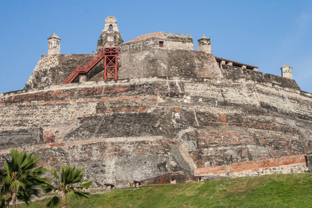 barajas: Cartagena, Colombia - 20 February, 2011 - San Felipe de Barajas fortress