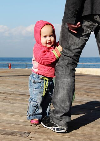 cute 10-month old baby Stock Photo - 12441356