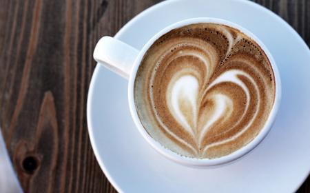 Cup of cappuccino Stock fotó