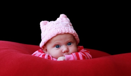 adorable3 month old baby  Stock Photo - 12672039