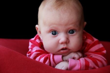 adorable3 month old baby Stock Photo - 12665412