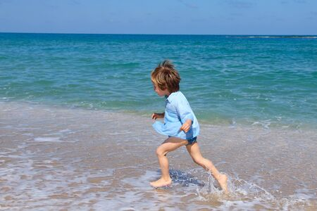 child at the sea  photo