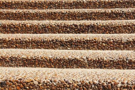 sand stairs background on the beach  photo