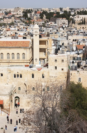Christian Quarter of the Old City of Jerusalem Stock Photo - 12774897