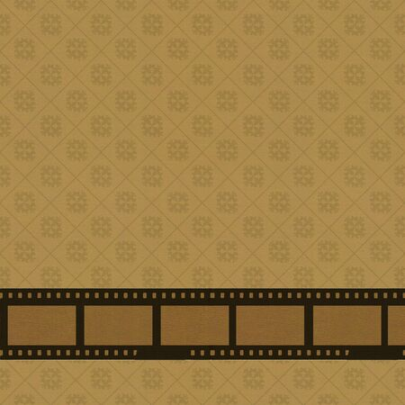 Vintage background with retro negative film Stock Photo - 12973466
