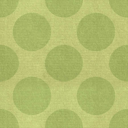 High resolution textured pattern with large green dots Stock Photo - 13396250