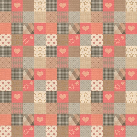 Plaid vintage pattern photo