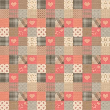 weaved: Plaid vintage pattern