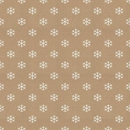 vintage paper with snowflake pattern photo