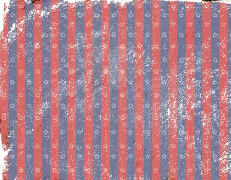texture stylized antique pattern with the colors of the American flag photo