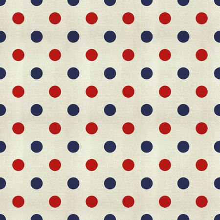 Polka Dot texture pattern with the colors of the American flag photo