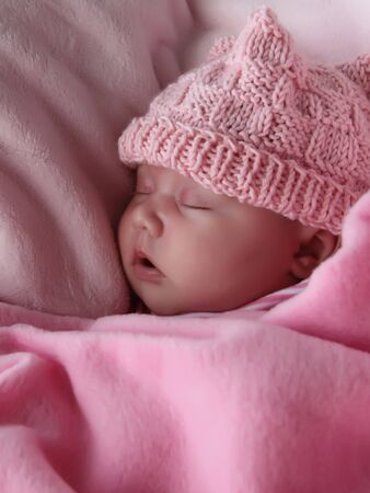Beautiful month-old girl Stock Photo - 14096372
