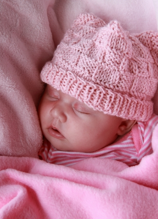 Beautiful month-old girl Stock Photo - 14096373