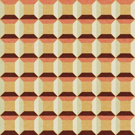 Seamless geometric textured pattern photo