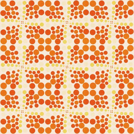 spores: vintage color pattern
