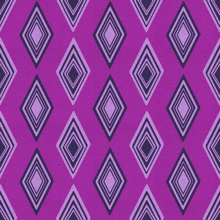 vintage purple paper with diamond pattern photo