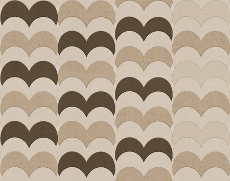 vintage textured pattern with hearts photo