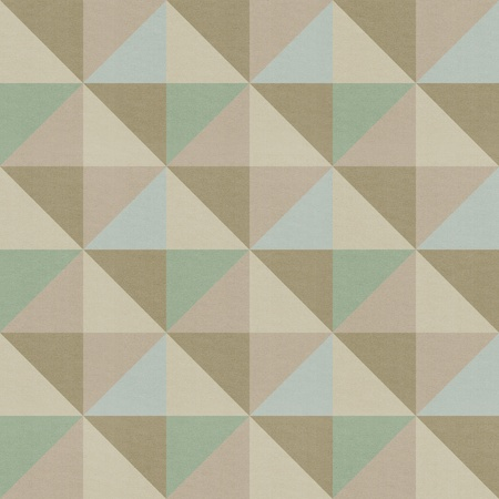 Seamless geometric pattern on paper texture photo
